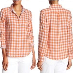 TOMMY BAHAMA Grand Gingham Shirt Size S
